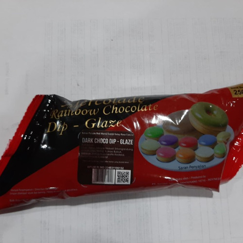 Dip Glaze Choco Dip Mercolade  (Saus Manis Rasa Cokelat), 250 gr