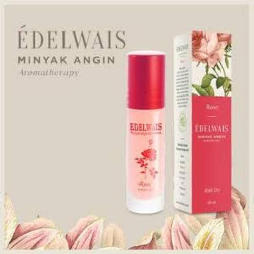 Edelwais Minyak Angin Aromatherapy Rose, 10 ml