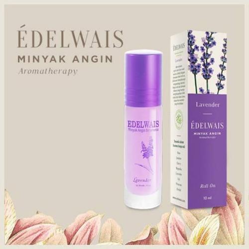 Edelwais Minyak Angin Aromatherapy Lavender, 10 ml
