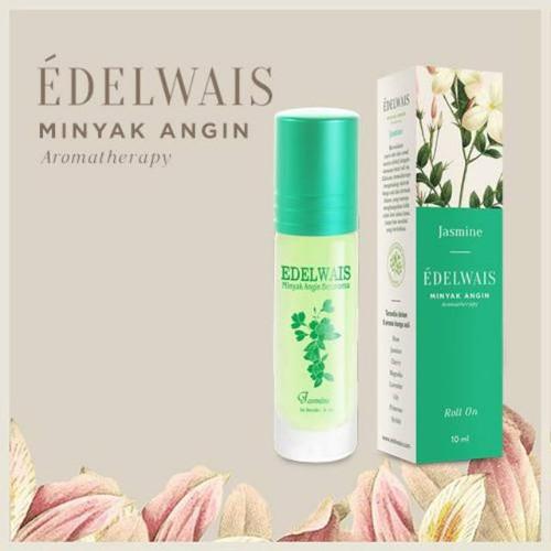 Edelwais Minyak Angin Aromatherapy Jasmine, 10 ml