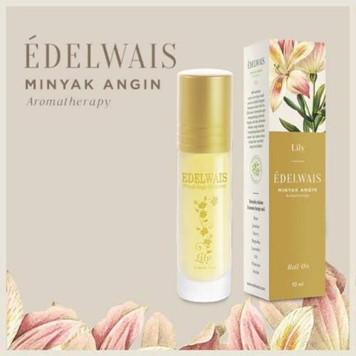 Edelwais Minyak Angin Aromatherapy Lily, 10 ml