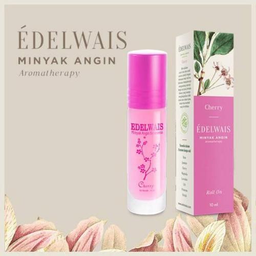 Edelwais Minyak Angin Aromatherapy Cherry, 10 ml