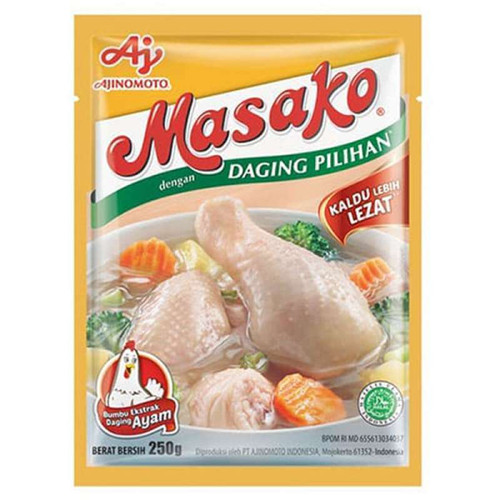 Masako Penyedap Rasa Ayam (Chicken Flavoring ), 250 Gram