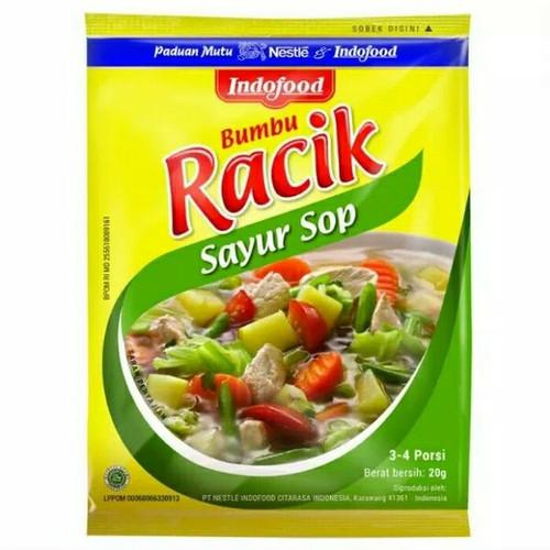 Indofood Bumbu Racik Sayur SOP, 20 Gram (Pack of 10)