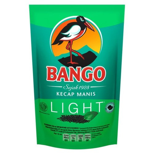 Bango Kecap Manis Light ( Less Sugar ), 550 ml - 18.5 fl oz