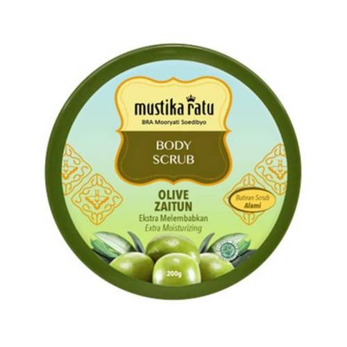 Mustika Ratu Body Scrub Olive Zaitun Indonesia 200 Gram