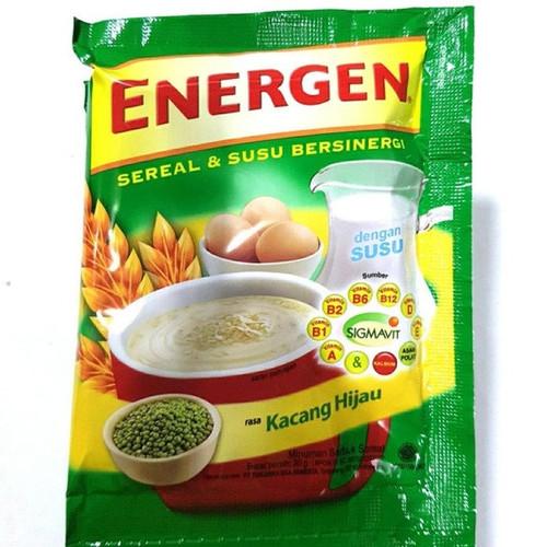 Energen Cereal and Nutritious Milk Green Beans Sachet 30 gr