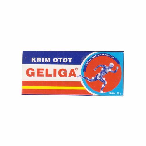 Geliga Krim Otot Muscular Cream, 30 Gram