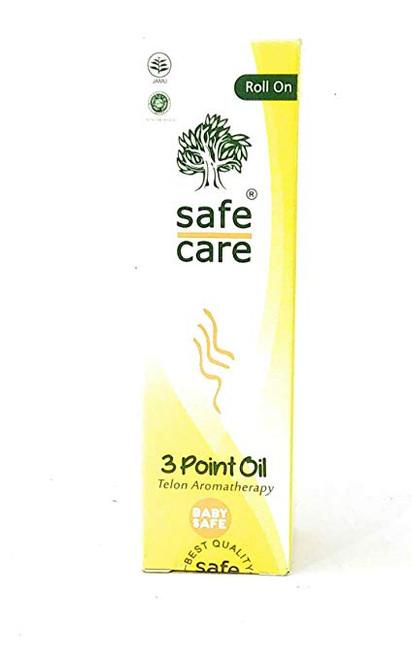 Safe Care Roll On 3 Point Oil (Telon Aromatherapy), 30 Ml