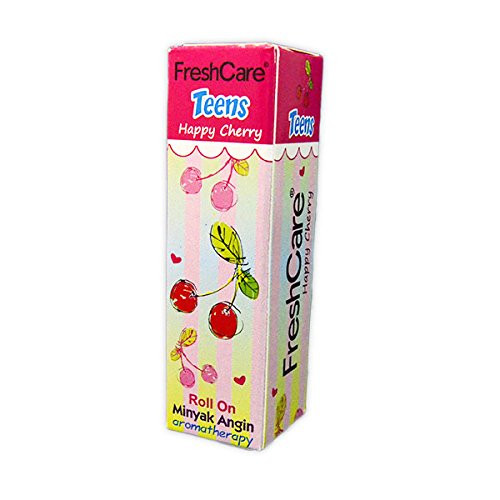 Fresh Care Teens Aromatherapy Roll On Oil - Happy Cherry, 10 Ml