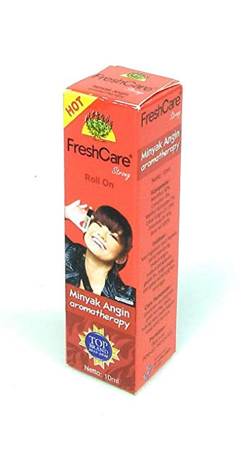 Fresh Care Medicated Oil Aromatherapy - Hot, 10 Ml