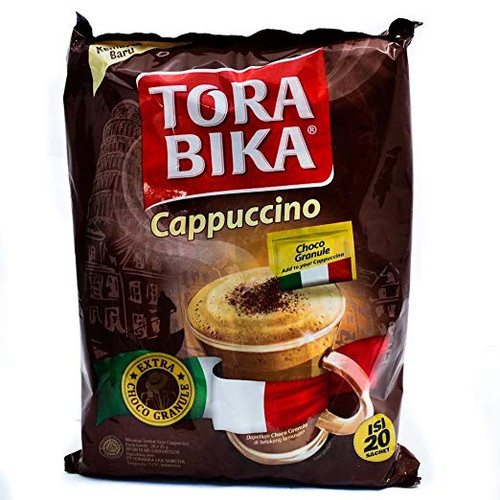 Torabika Cappuccino Instant Coffee 20-ct, 500 Gram