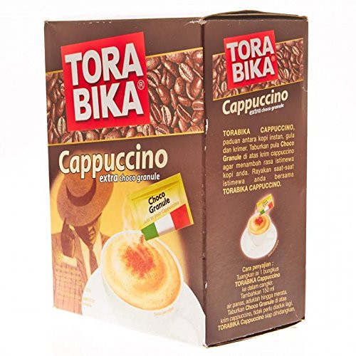 Torabika Cappuccino Instant Coffee 5-ct, 125 Gram
