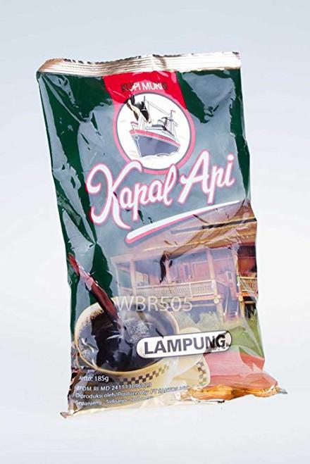 Kapal Api Kopi Lampung Ground Coffee, 6.52 Oz