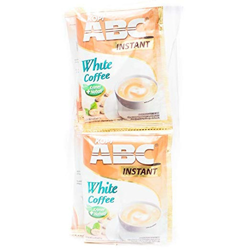 ABC White Coffee, 0.7 Oz (10 Sachets)
