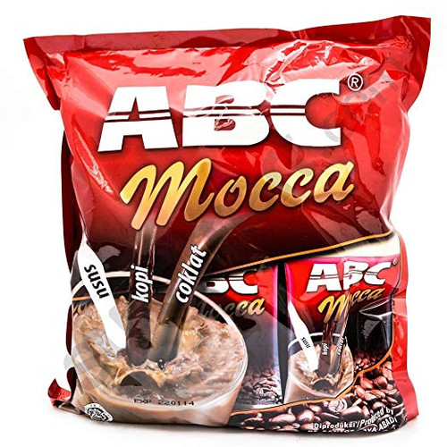 ABC Mocca Instan Coffee 30-ct, 28.57 Oz