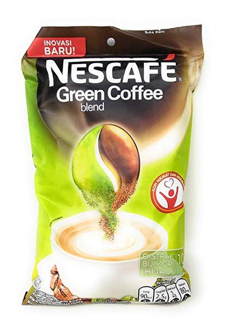 Indonesian Nescafe Green Coffee Blend 10-ct, 200 Gram
