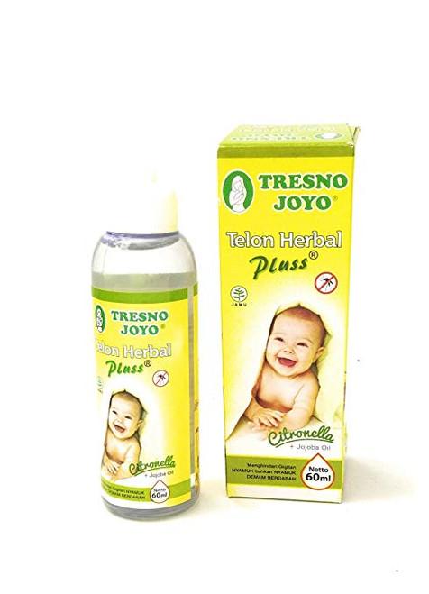 Tresno Joyo Minyak Telon Oil plus - Citronella, 60 Ml (2 Fl Oz)