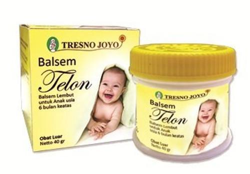 Tresno Joyo Balsem Telon Baby Balm Ointment (20 Gram)