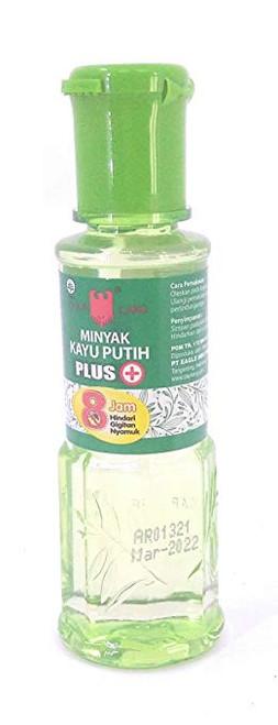 Eagle Brand Minyak Kayu Putih Plus (Cajuput Oil), 60 ml