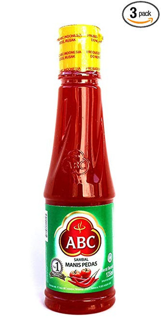 ABC Sambal Manis Pedas (Hot & Sweet Sauce), 135 Ml