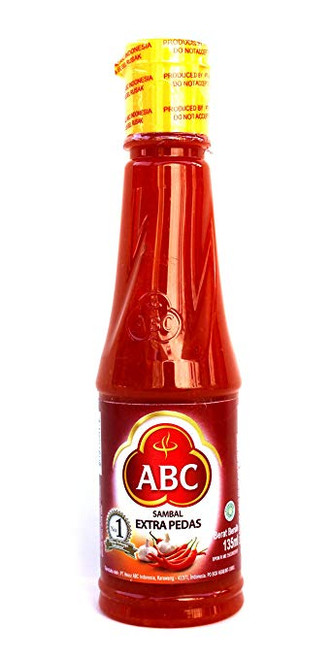 ABC Sambal Ekstra Pedas (Extra Hot Chili Sauce), 135 Ml