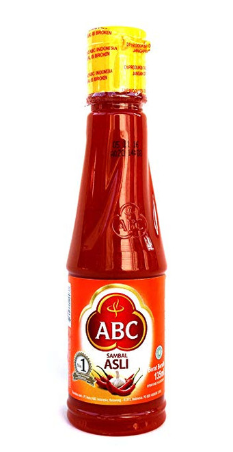 Abc Sambal Asli Chilisauce 140ml