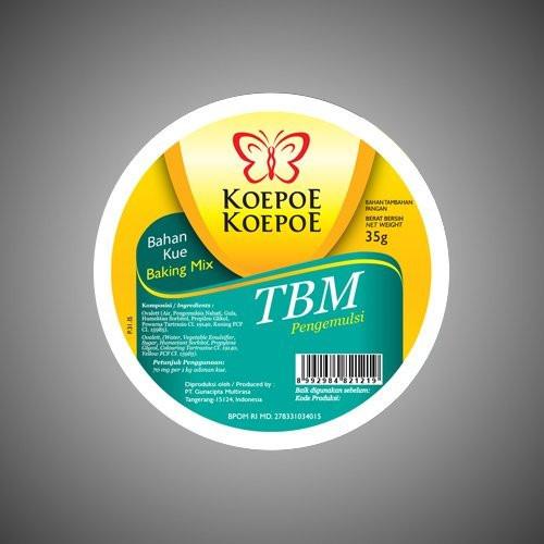 Koepoe-koepoe TBM Emulsifier Ovalett (35 Gram)