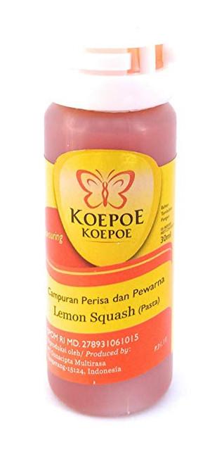 Koepoe-koepoe Lemon Squash Paste Flavour Enhancer, 30ml
