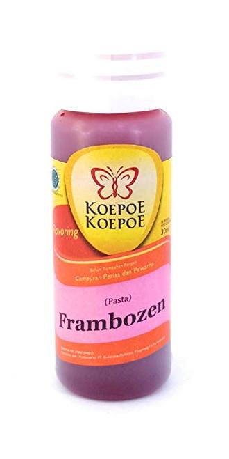 Koepoe-koepoe Frambozen Paste Flavour Enhancer, 30ml