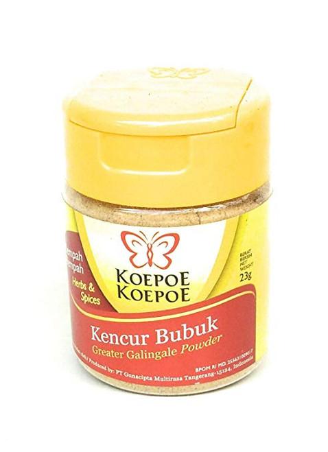 Koepoe-koepoe Kencur Bubuk, 38 Gram