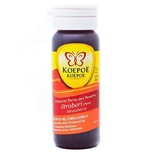 Koepoe-koepoe Aroma Pasta Strawberry (Stroberi), 30ml