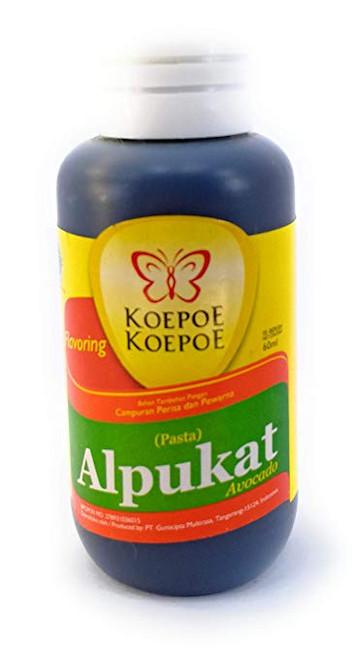 Koepoe-koepoe Alpukat (Avocado) Paste Flavour Enhancer, 60ml
