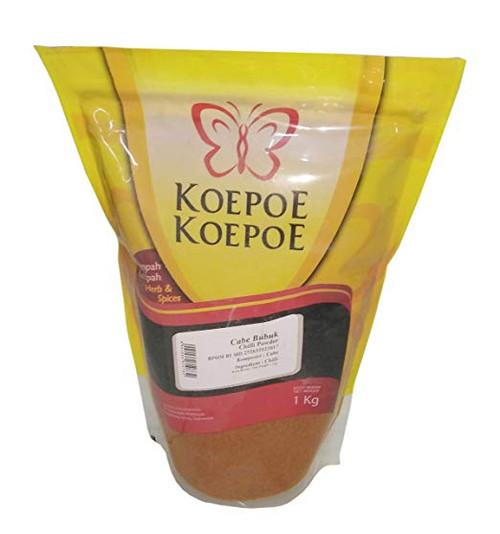 Koepoe-koepoe Cabe Bubuk - Chili Powder, 1 Kg (2.2 Lbs)
