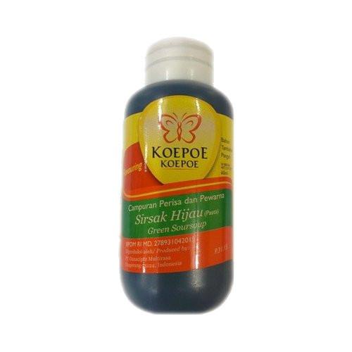 Koepoe-koepoe Aroma Pasta Sirsak Hijau - Green Soursoup, 60ml