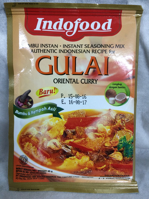 Indofood Gulai , 45 Gram