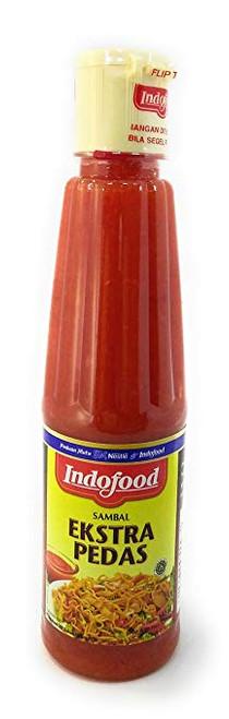 Indofood Sambal Extra Pedas - Chili Sauce, 140 ml