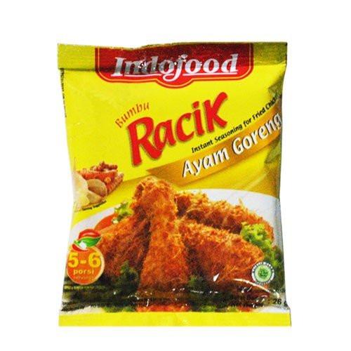 Indofood Racik Ayam Goreng Curry, 26 Gram (Pack of 10)