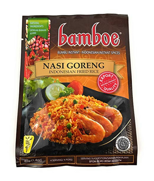 Bamboe Nasi Goreng (Fried Rice Seasoning), 40 Gram