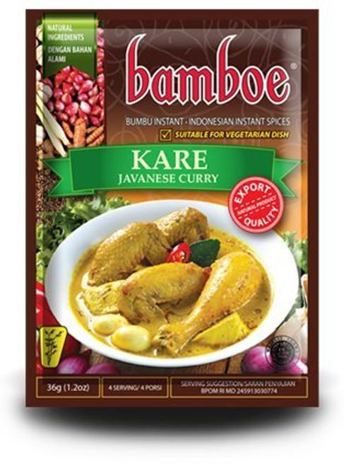 Bamboe Kare - Javanese Curry , 36 Gram