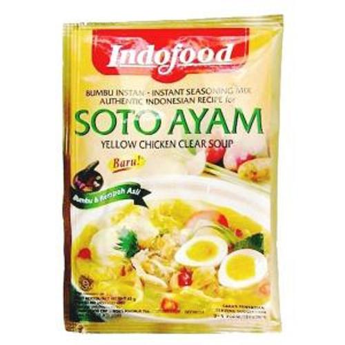 Indofood Bumbu Soto Ayam (Clear Oriental Chicken Soup) - 1.6oz