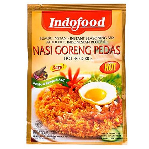 Indofood Seasoning for NASI GORENG PEDAS Hot Fried Rice 1.5oz