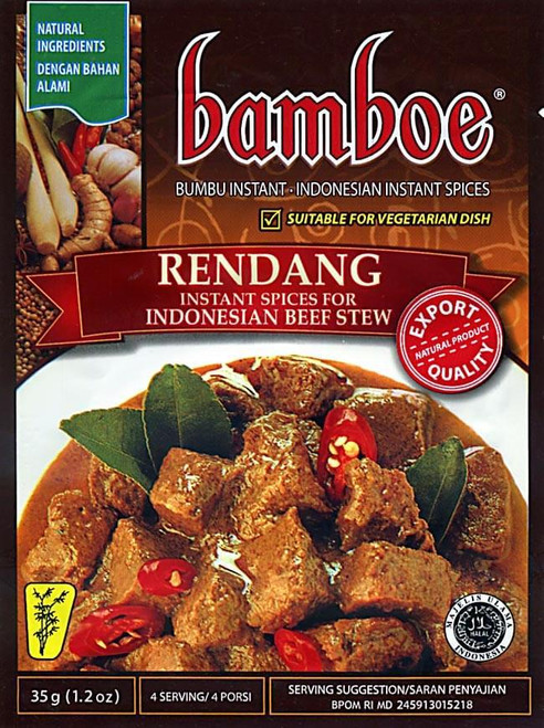 Bamboe Rendang (Indonesian Dry Curry), 50 Gram