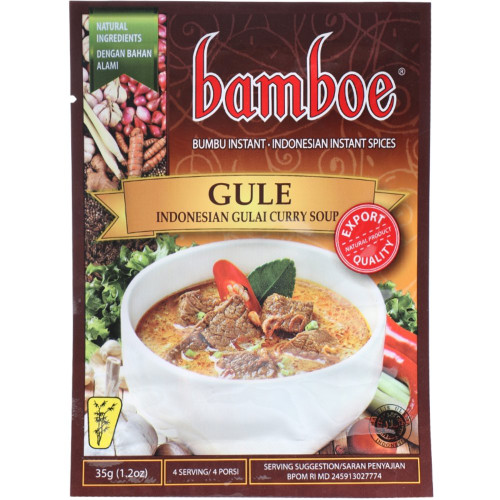 Bamboe Gule - Indonesian Gulai Curry soup , 35 Gram