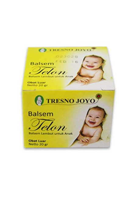 Tresno Joyo Balsem Telon Baby Balm Ointment (40 Gram)