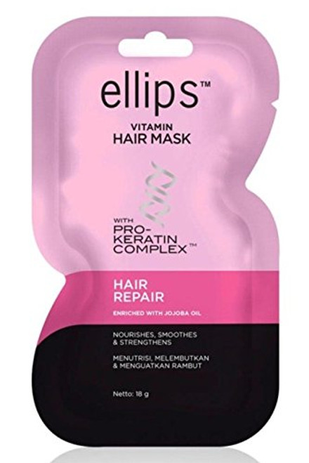 Ellips Hair Mask (Pro Keratin) - Hair Repair, 18 Gram (Pack of 10)