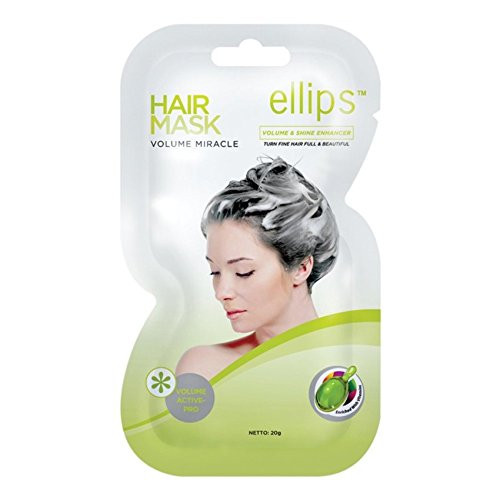 Ellips Hair Mask - Volume Miracle, 20 Gram (Pack of 10)