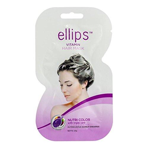 Ellips Hair Mask - Nutri Color, 20 Gram (Pack of 10