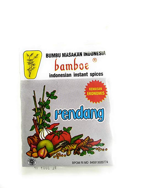 Bamboe Rendang Indonesian Spices (kemasan ekonomis), 20 Gram