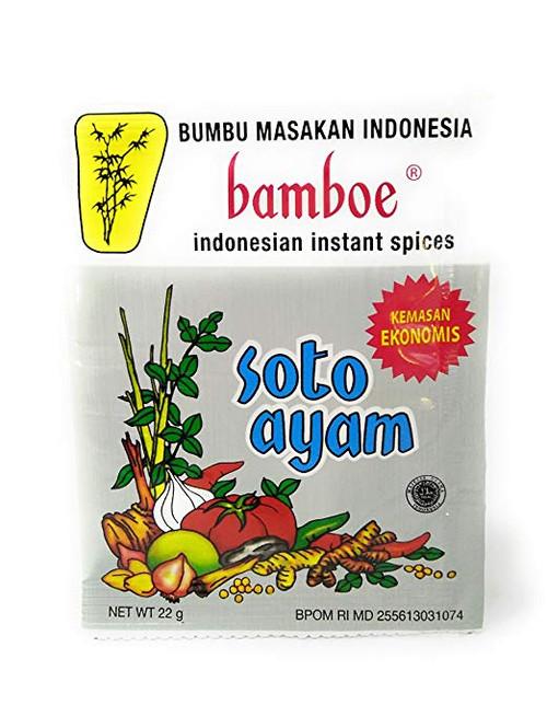 Bamboe Bumbu Instant Soto Ayam (Econo Pack), 22 Gram